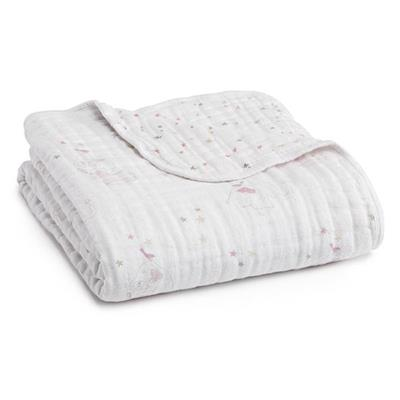 70% Bamboo 30% Cotton 6 Layer Gauze Muslin Baby Blanket