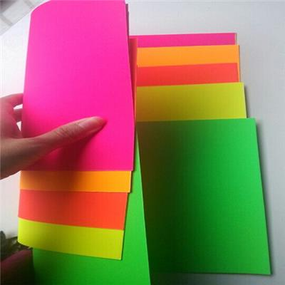 Two Sides Color Fluoresenct Paper