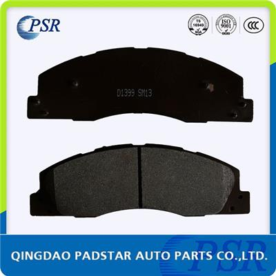 Brake Pad D1399 For Dodge Ram