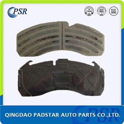 Heavy Duty Truck Brake Pad Wva29059 With Damped Coating