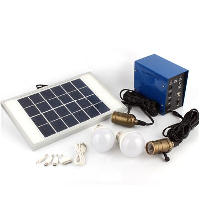 DC Solar Power System for Home Lighting China Shenzhen Solar Power Box and Small Portable Solar System Lighting Kit