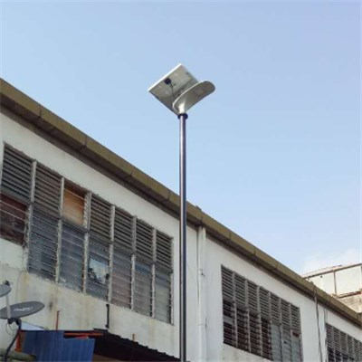 210LM/W Solar LED Street Light Motion Sensor Integrated Solar Street Light All in One