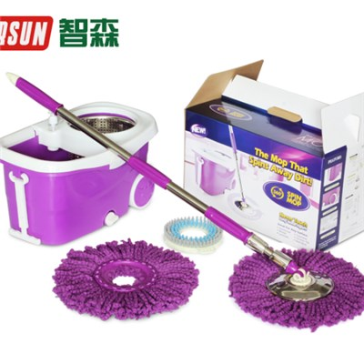 Spin Mop With Big Wheels