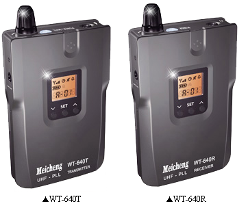WT-640 Series Wireless simultaneous translation、Wireless group tour guide System (Rechargeable)