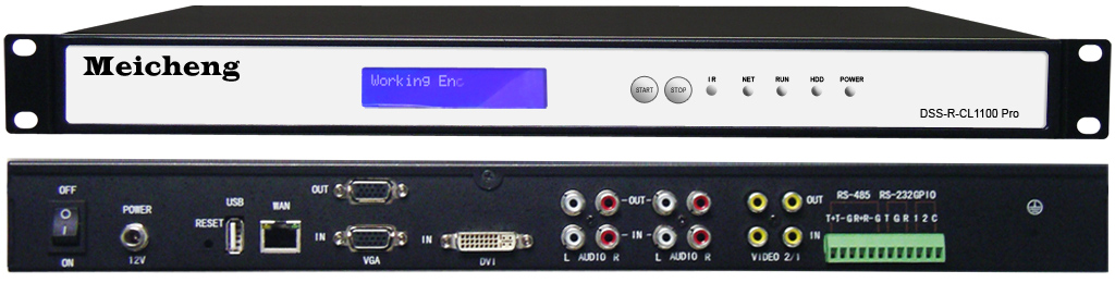 Streaming Recorder & Automatic Learning System DSS-R-CL1100 Pro (SDI)
