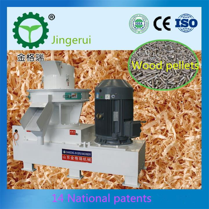 Jingerui sawdust granulator machine sawdust pelletizer for sale China