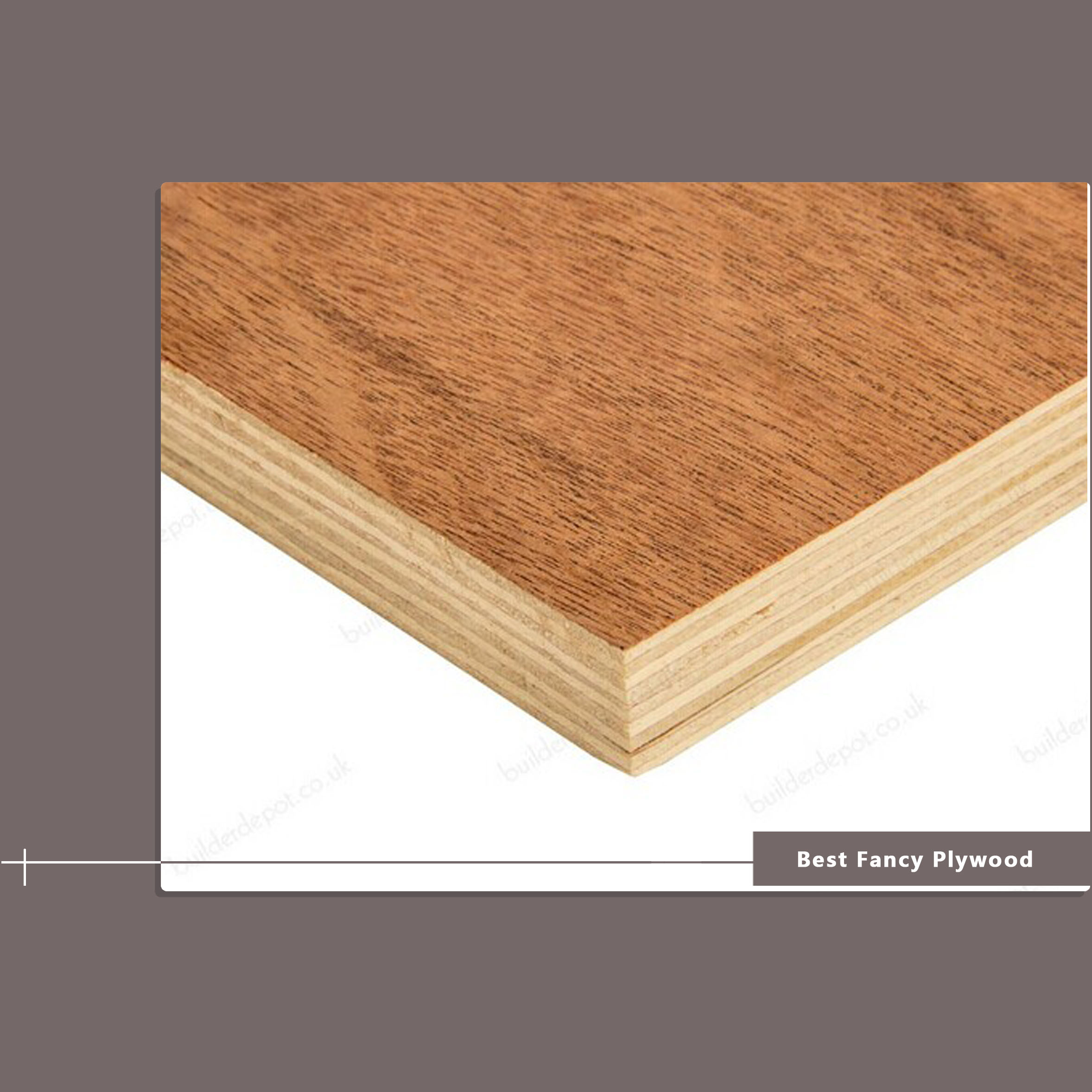 12 mm Furniture Fancy Plywood E1