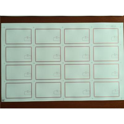 Customized PVC Inlay Sheet Prelam