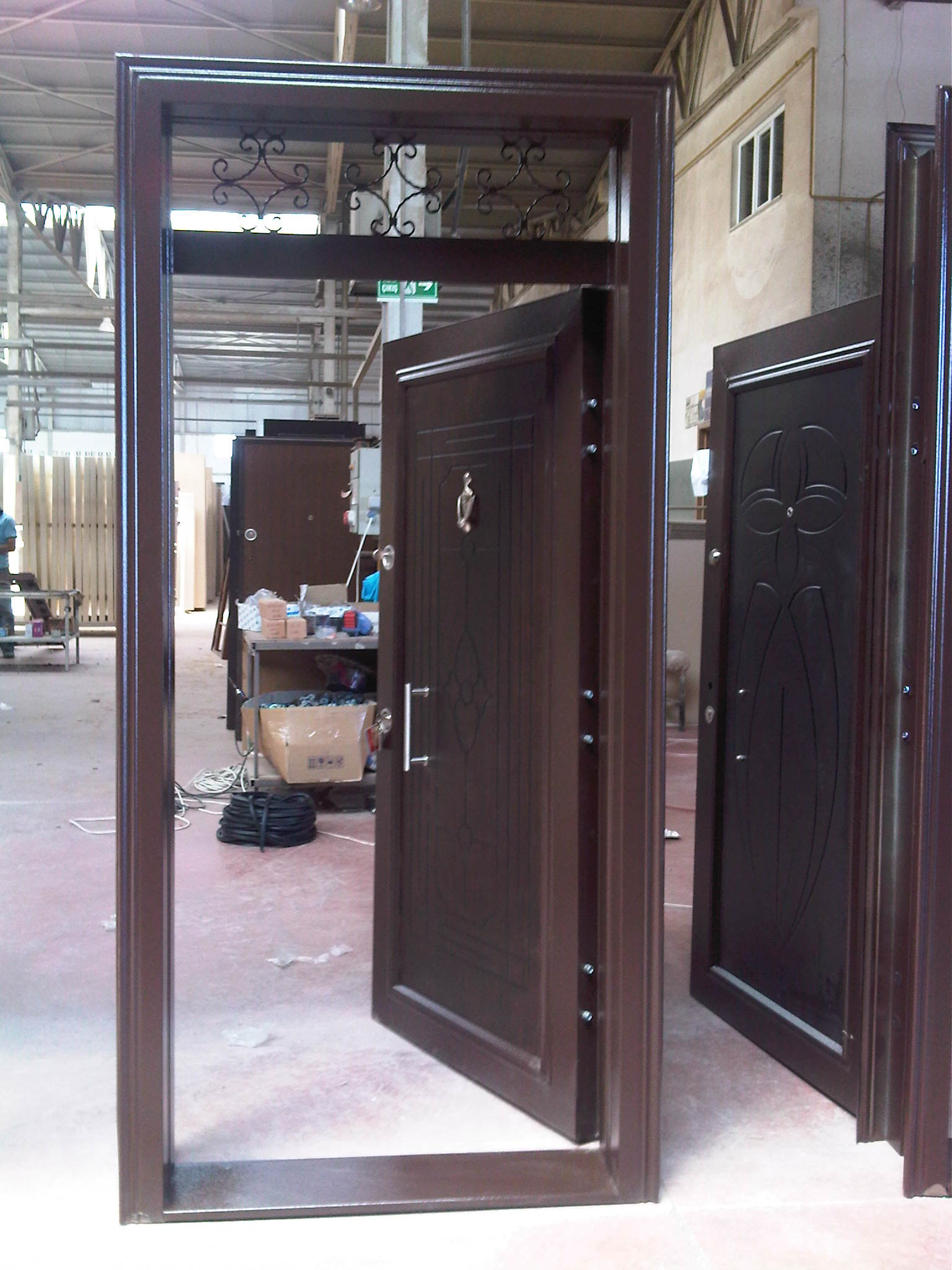 Steel Security Doors - CLASSCI SERIES
