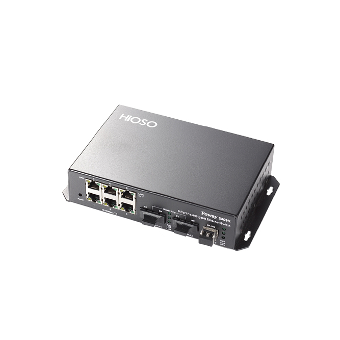 100/1000M 9 ports Ring Function Switch