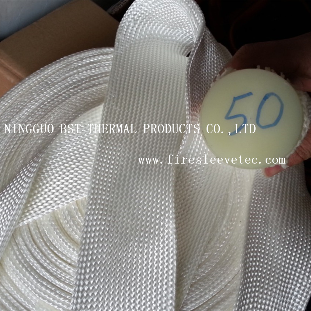 thermosleeve fiberglass braided sleeve