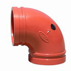 Grooved Pipe Fitting albow