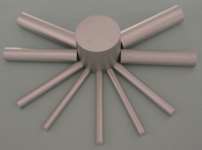 aluminum alloy nonhollow extruded rods and bars