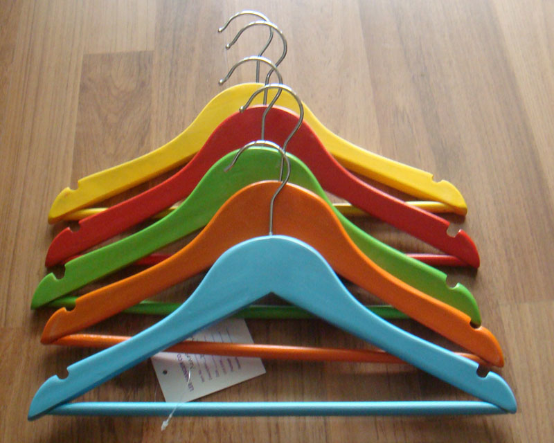 wooden hangers painted wooden clothes hangers for kids