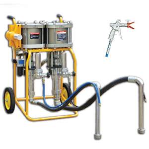 Two-component High-pressure Gas Driven Airless Paint Sprayer