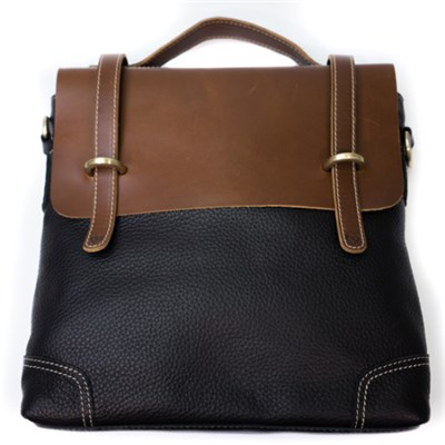 Unisex PU Leather Shoulder Bag
