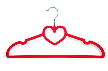 unique anti-Slip kids/childrens/babies clothes hangers red clothes hanger with hooks