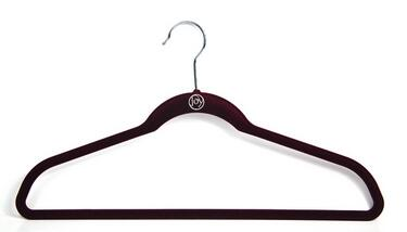 high end black cheap skirt/T-Shirt/padded sweater heavy duty hanger womens/mens suit hangers with hook for wardrobe