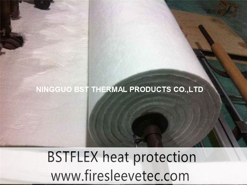 FIBERGLASS needle insulation felt