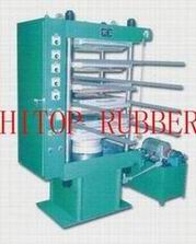 Rubber Tile Producing Machine