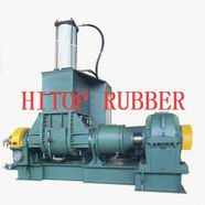 Dispersion mixer for rubber and plastics