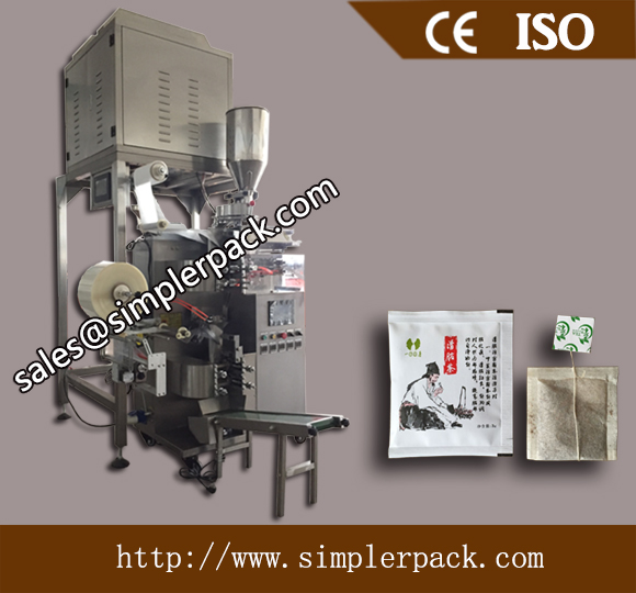 Multi-function Inner and Outer Tea Bag Packing Machine