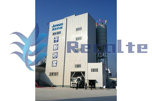 40m³ Tower type dry mortar mixing plant/powder station