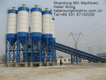 Detachable bolted steel cement storage silo