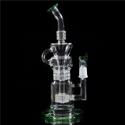 12.4 Inches Clear Big Glass Bongs