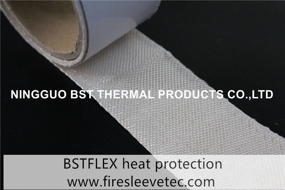 adhesive coating High Temperature Woven Silica Tape