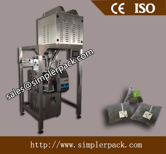 Pyramid Nonwoven English Afternoon Tea Bag Packing Machine