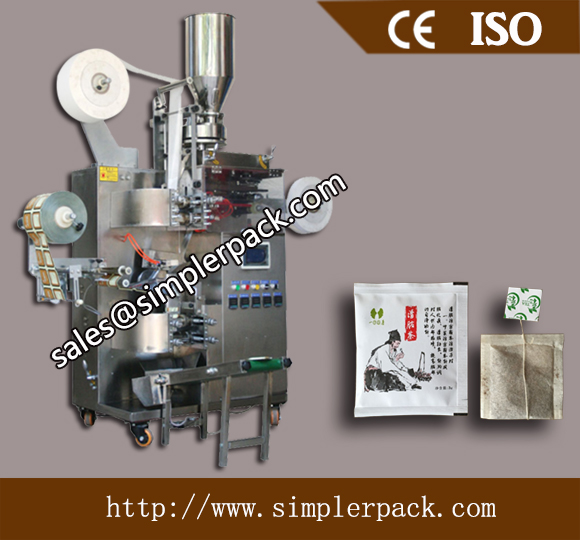 Multi-function Oolong Tea Bag Packing Machine with Outer Envelope