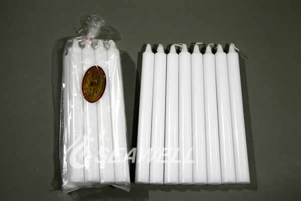 Smokeless White Color Palm Wax Stick Candle