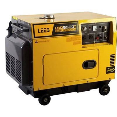 5000w Silent Three Phase Diesel Generators-LSD6500T3