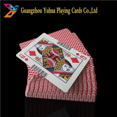 Chinese Greycore Casino Cardstock Paper Pokers