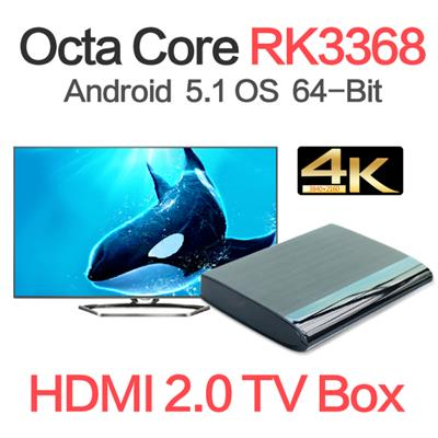 Google Play Store 2G/16G RK3368 Octa Core Android Tv Box