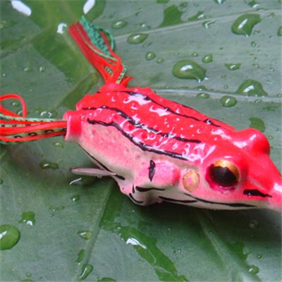 Soft Ray Frog Fishing Lures
