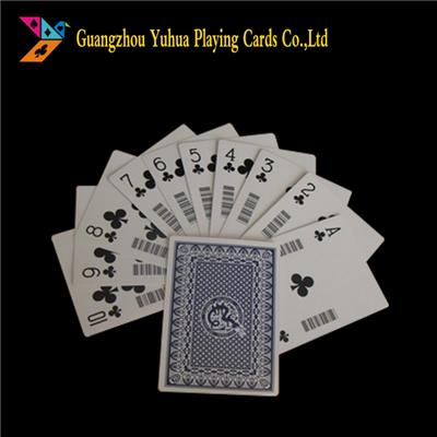Chinese Bluecore Casino Cardstock Paper Playing Cards