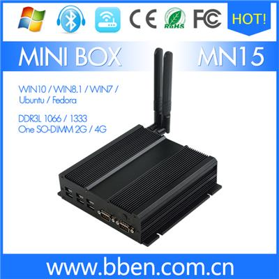 SOC Codename 3150 4G 64G With HDD500G Ubuntu Mini Pc Box For Industrial Use