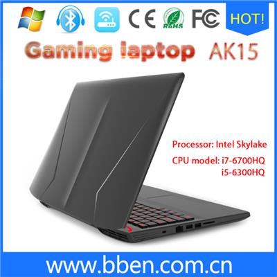 15.6 Inch Intel Skylake CPU I5-6300HQ 8G 1T Gaming Laptop