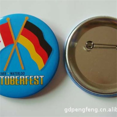 Cheap Flags Printing Tin Button Badge