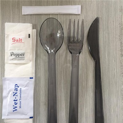 7in 1 Disposable Cutlery Sets