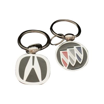 Hard Enamel Car Logo Keyrings/keychains