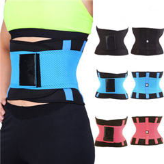 Multi-colored Breathable Waist Protector Belt