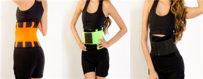 Multi-colored Back Brace for Sports