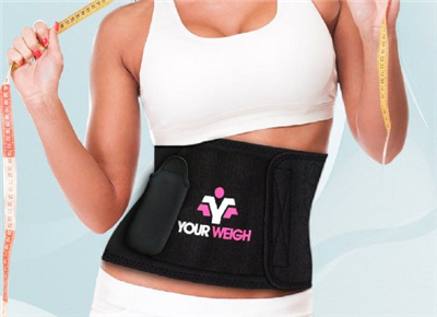 Abdomen Belt with Detachable Pocket