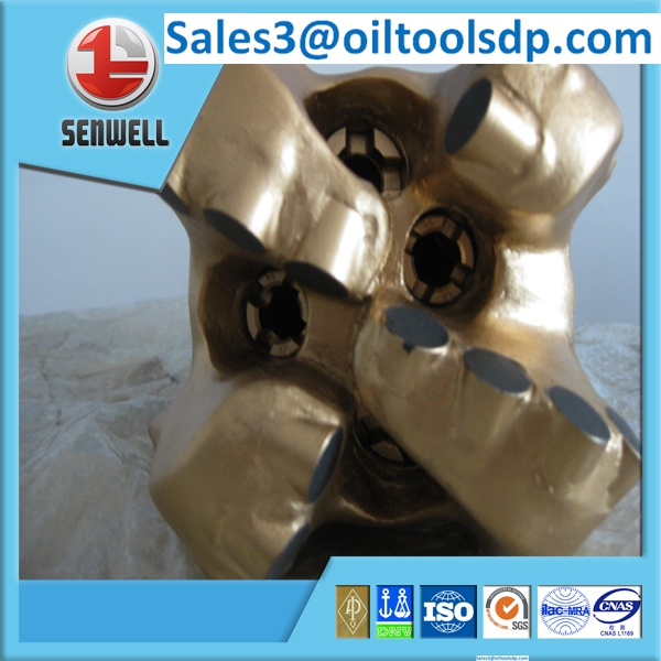 API standard 4 blades 12-1/4 matrix body & steel body PDC bits for drilling