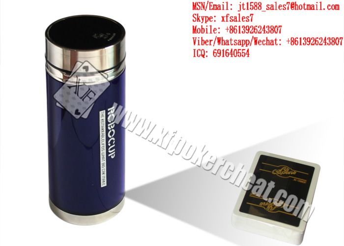 XF CVK550 Vacuum Cup Invisible Mini Camera To Scan Bar-Codes Marked Playing Cards For Poker Analyzers