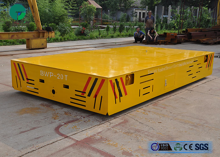 20t Trackless Industry Delivery Electric Transfer Cart