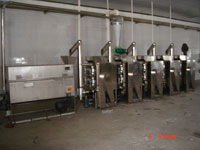chili crush producing line